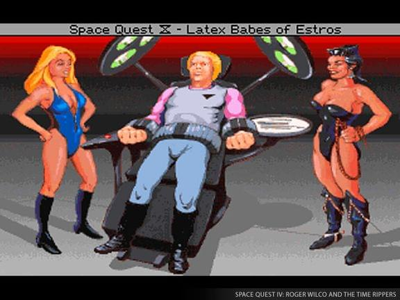 Screenshot from Space Quest IV