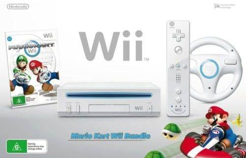 Image of Wii Mario Kart Bundle