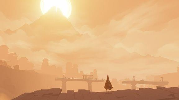 Screenshot from Journey