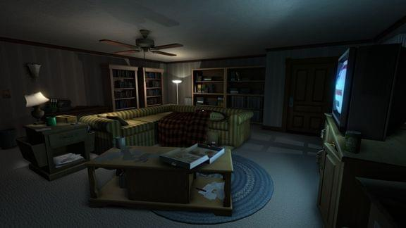 Screenshot from Gone Home