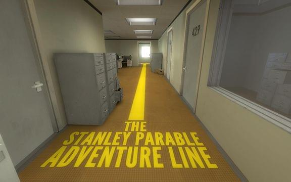 Screenshot from The Stanley Parable