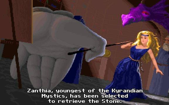 Screenshot from Legend of Kyrandia: The Hand of Fate