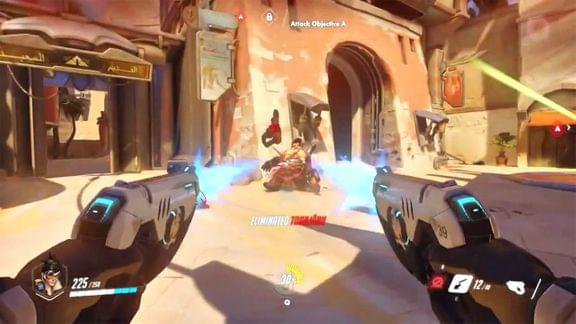 Screenshot of Overwatch