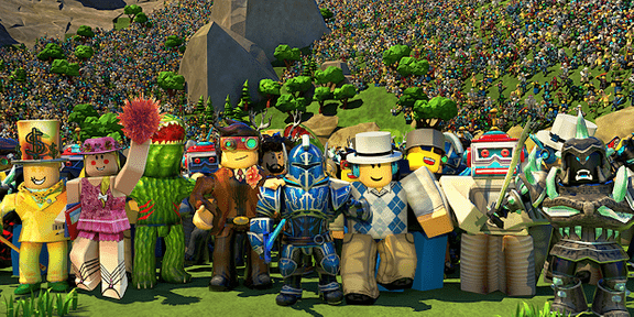 Promotional image of Roblox