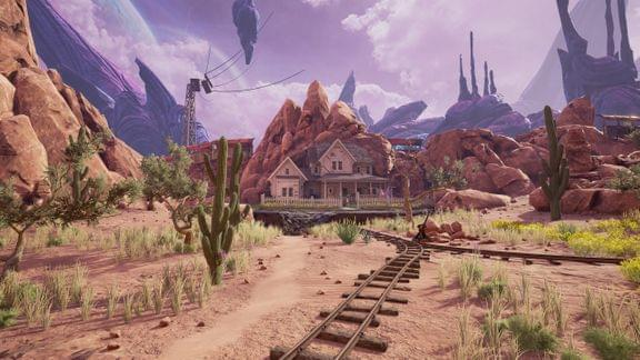 Screenshot of Obduction