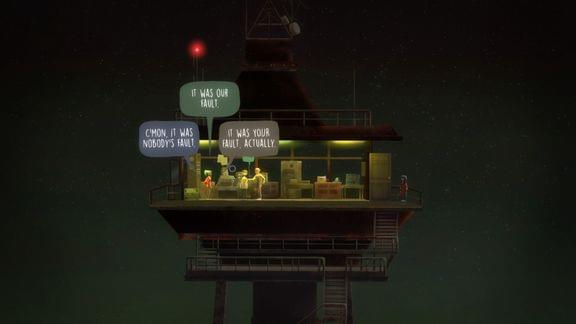 Screenshot of Oxenfree