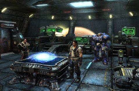 Screenshot from Starcraft II